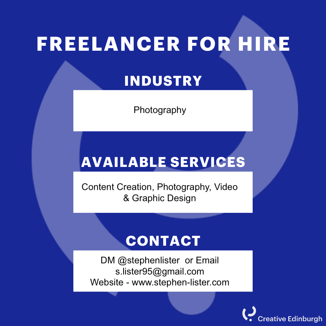 4082731a23cd Freelance for Hire Stephen Lister